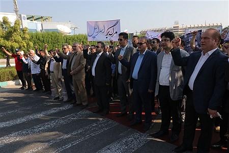 مراسم راهپیمایی 13 آبان در جزیره کیش | Amir Hossein Yeganeh