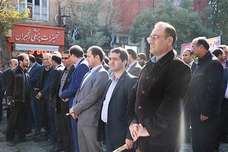 راهپیمایی ١٣ آبان در همدان | Ali Bayat