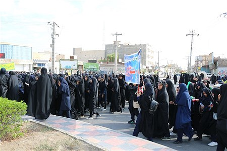 حضور پرشور دانش آموزان ایرانشهری در راهپیمایی 13 آبان   zahra soltan abadei
