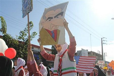 راهپیمایی ۱۳ آبان | Melika Kiakhosro