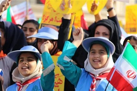 راهپیمایی روز 13 آبان  | Zahra farkhondepey