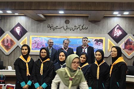 تجلیل از برگزیدگان  اردوی ملی پیشتازان دختر و پسر | Masoud Rostami