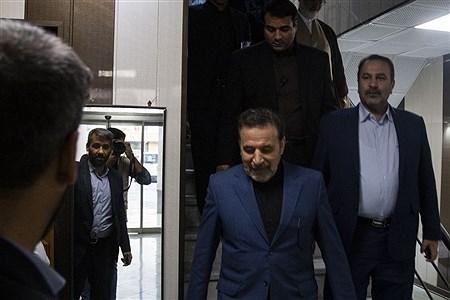 محمود واعظی رئیس دفتر رئیس جمهوری در جلسه شورای اداری شهرستان لامرد  | Sayed Mohammad Haghayeghi