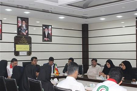 جلسه  مانور زلزله مدارس بوشهر | Nazanin jokar