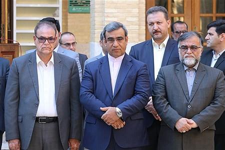 مراسم غبار روبی مزار شهدای گمنام به مناسبت روز کیش | Amir Hossein Yeganeh