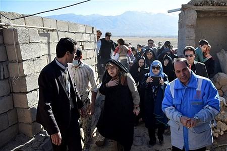 بازدید معاون رئیس جمهور از مناطق زلزله زده سراب | Mahdi Rafiee kia