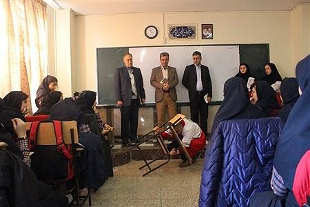 جلسه کارگروه بیست و یکمین مانور سراسری زلزله و ایمنی | leila hatami