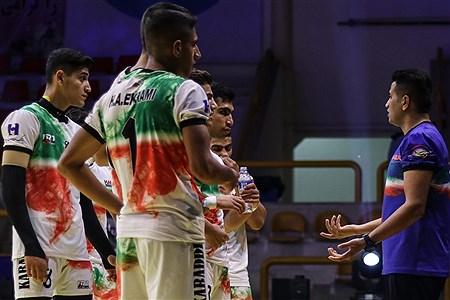 برگزاری بازی ایران و مالزی در سومین روز از مسابقات کبدی قهرمانی جوانان جهان | Amir Hossein Yeganeh