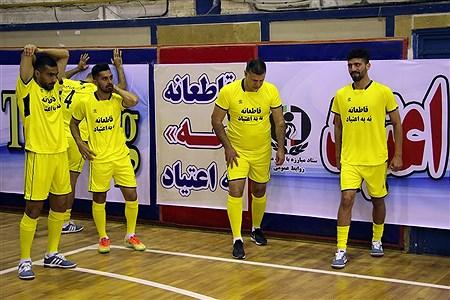 دیدار تیم منتخب قهرمانان ملی فوتبال با متخب تیم های محله هرندی | Amir Gholami