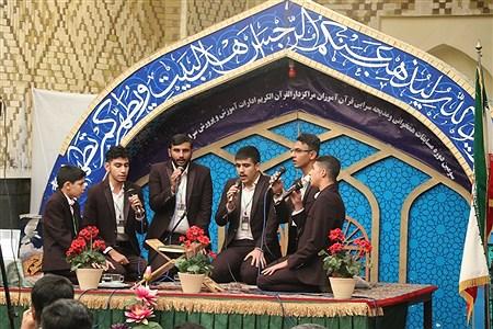 سومین دوره مسابقات هم خوانی قرآن کریم و مدیحه سرایی دانش آموزان پسر سراسر کشور درمشهد | Javad Ebrahimi