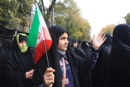 اعلام انزجار عمومی  مردم تبریز از آشوبگران   | leila hatami