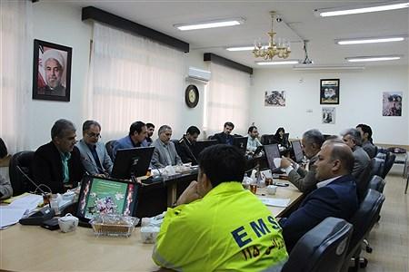 جلسه برنامه ریزی و هماهنگی  بیست و یکمین مانور سراسری زلزله و ایمنی درمدارس  | samira jahangiri