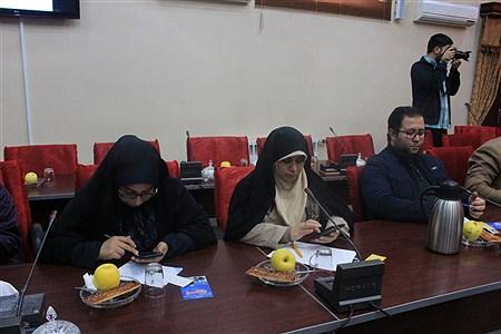 نشست خبری فرمانده سپاه عاشورا به مناسبت هفته بسیج | leila hatami