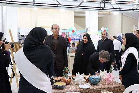 نمایشگاه دست سازه های دانش آموزان  در بوشهر | Zahra Bahrami