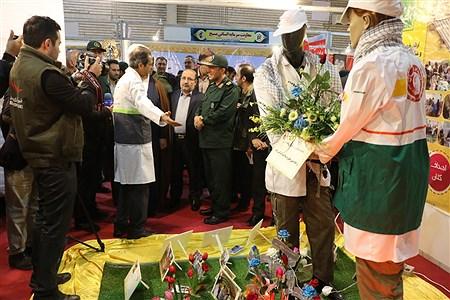 افتتاح نمایشگاه دستاوردهای ۴۰ ساله بسیج در آذربایجان غربی | Amir Hosein Mollazade