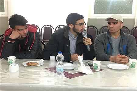 حضور رییس دبیرخانه مجلس دانشآموزی در سازمان دانش آموزی استان همدان |