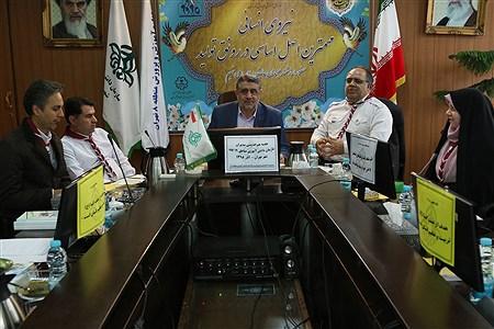 جلسه هم اندیشی مدیران سازمان دانش آموزی مناطق 19 گانه شهر تهران | Zahra Alihashemi