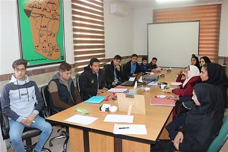 دهمین دوره انتخابات شورای دانش آموزی خرمدشت | masoud mirzaei