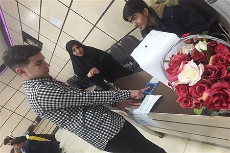 برگزاری انتخابات مجمع نمایندگان شورای دانش آموزی ناحیه 2 همدان | Zahra Maddah