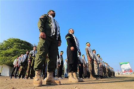 رزمایش گردان بیت المقدس در جزیره کیش  | Amir Hossein Yeganeh