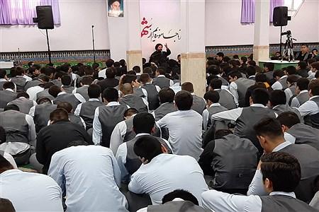 تشییع نمادین پیکر شهید گمنام دریادواره شهدای دبیرستان ملاصدراناحیه دو شهرری | Javadtalatofi
