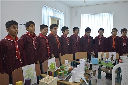 نمایشگاه  دست ساخته های دانش آموزان  | Amir hssan shkeri