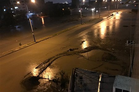 بارش شدید باران و آبگرفتی شهرها در خوزستان  | Fatemeh Ghanbari