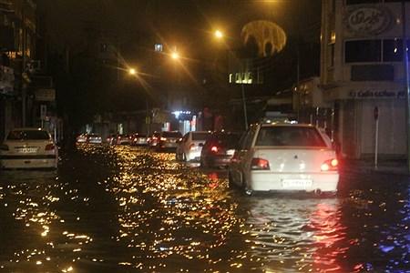 بارش شدید باران و آبگرفتی شهرها در خوزستان  | Mohsen Hekmat Ara