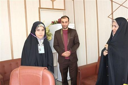 نشست خبری پانا با معاون نهضت سوادآموزی قزوین | zahra esmaeili