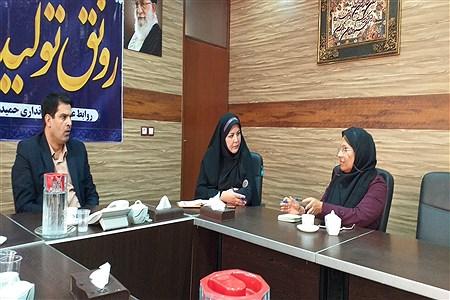 برگزاری اولین جلسه هیئت مجمع عمومی مشورتی بانوان شهرستان حمیدیه | Salimeh Torfo