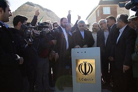 سفر وزیر نیرو به  شهرستان درگز و افتتاح سد ابیورد | Ehsan Babaee