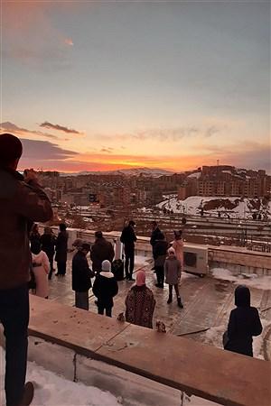رصد خورشیدگرفتگی در رصدخانه ابن صلاح همدانی | Reyhane ZohreVand