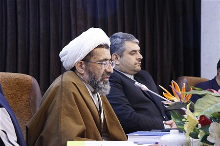 نشست خبری همایش نکوداشت آیت الله سید محمد محقق داماد   Rayhaneh Rezaei H