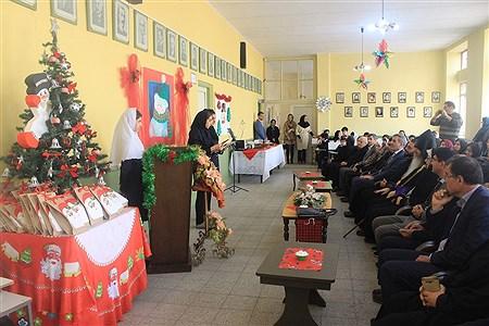 برگزاری جشن سال نو درانش آموزان مدرسه ارامنه اسدی در تبریز   leila hatami
