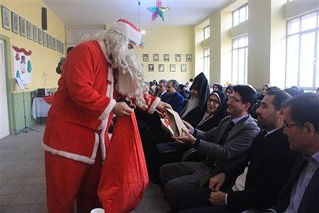 برگزاری جشن سال نو دانش آموزان مدرسه ارامنه اسدی در تبریز   leila hatami