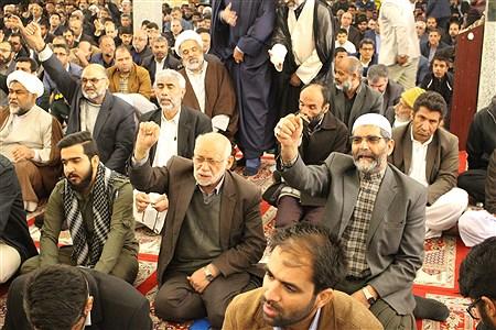 اجتماع بزرگ مردمی بزرگداشت حماسه 9 دی در سیستان و بلوچستان برگزار شد | Amin Moaddabnia
