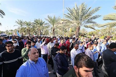 راهپیمایی حماسه 9 دی در جزیره کیش | Amir Hossein Yeganeh