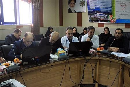 نشست خبری رییس بیمارستان  فوق تخصصی محلاتی با اصحاب رسانه در تبریز | leila hatami