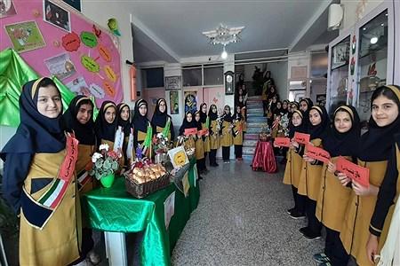 جشن ولادت حضرت زینب (س) در دبستان شاهد ٢ ملایر | Leila Tork Zaban