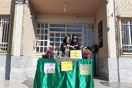 جشن ولادت حضرت زینب (س) در دبستان شاهد ٢ ملایر | Soodabeh Takalloo
