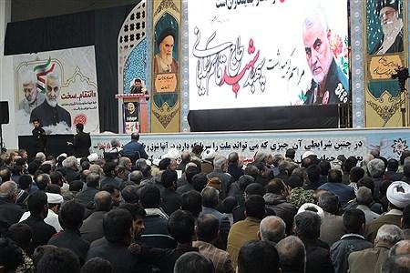 سوگواره سردار شهید حاج قاسم سلیمانی،حسینیه جماران   MohadesehHesami