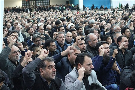 سوگواره سردار شهید حاج قاسم سلیمانی،حسینیه جماران | MohadesehHesami