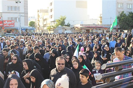 مردم بوشهر در سوک سردار شهید قاسم سلیمانی  | Abolghasem Abdollahi