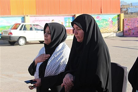 عزاداری دانش آموزان پیشتازان مدرسه جهادگران یاسوج در سوگ سردار دلها |