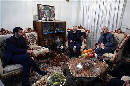دیدار  و تکریم وزیر آموزش و پرورش از دو بازنشسته فرهنگی  | Hossein Paryas