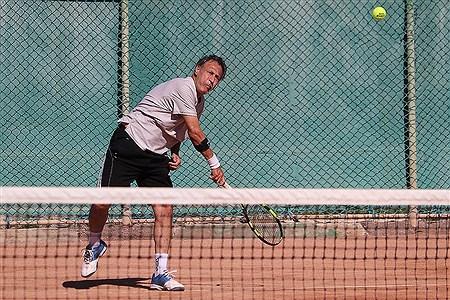 تور  جهانی تنیس پیشکسوتان در جزیره کیش | Amir Hosein Yeganeh
