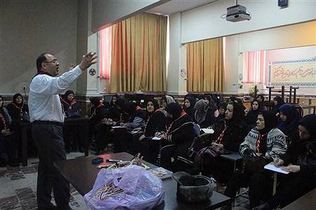 دوره  آموزشی ضمن خدمت مربیان پیشتاز جدید الورود ناحیه 3 تبریز | leila hatami