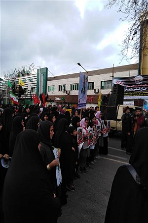 حضور پیشتازان در اجتماع مردمی سلیمانیها  | Ebrahim Mokhtari