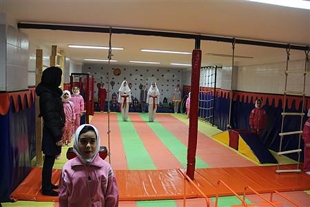 افتتاحیه کلاس درس تربیت بدنی در شهرری | sheyda mashhour