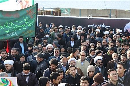 راهپیمایی مردم مشهد در حمایت از جبهه مقاومت   و ابراز همدردی با بازماندگان  شهدای سانحه هواپیمایی     | Javad Ebrahimi